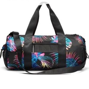VS PINK midnight tropical duffle bag